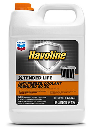 Havoline Xtended Life Antifreeze/Coolant Pre-mix 50/50- 1 Gallon