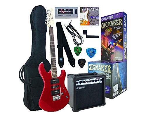 Yamaha ERG121GPIIMR Paquete de Guitarra Eléctrica, rojo