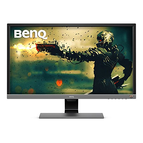 Monitor BenQ Gamer 28 pulgadas 4K HDR (EL2870U), Tiempo de respuesta 1ms, UHD, Panel TN, Free-Sync, Eye-Care, Anti reflejante, Brightness Intelligence Plus, HDMI, DP, Bocinas integradas