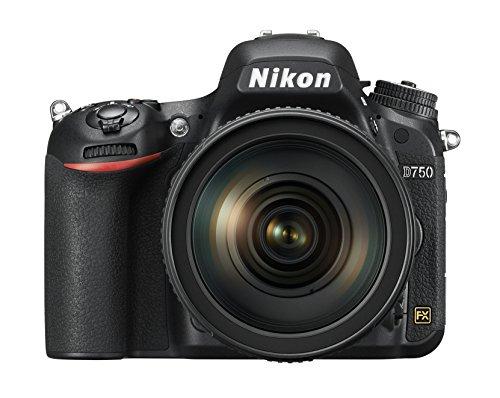 Cuerpo de cámara digital réflex Nikon D750 1543 24.3 MP 3.2 pulgadas TFT-LCD con lente 1.96 pulgadas f/1.4 (negro)