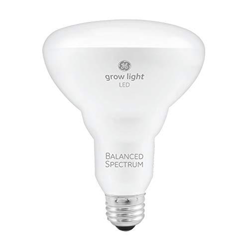 GE BR30 luces LED de crecimiento para plantas de interior, espectro completo, foco de luz de crecimiento de 9 vatios, foco de luz para plantas con iluminación equilibrada para semillas y verdes