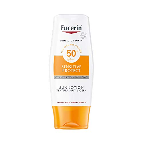 Eucerin Protector Solar FPS 50+, Sensitive Protect, 150 ml