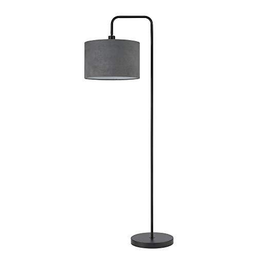 Globe Electric 67397 Barden - Lámpara de pie, color negro con gris oscuro