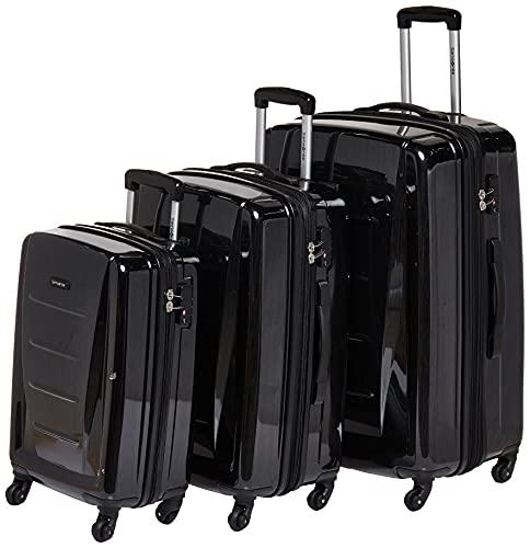 Samsonite Juego de maletas, Set de 3 piezas, Unisex adulto, Gris, 3 PC (20/24/28)