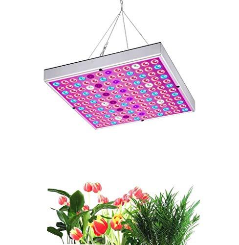 Lámpara LED de Cultivo para Plantas, Luces de Cultivo de 45 W para Invernaderos, Lámpara de Crecimiento de Espectro Completo y Alta Eficiencia para Plantas de Interior y Semillero Hortalizas y Flores
