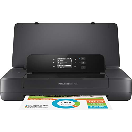 HP Impresora portátil OfficeJet 200 con impresión inalámbrica y móvil (CZ993A)