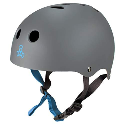 Triple Eight Sweatsaver Halo - Casco de Agua para Wakeboarding y esquí acuático, Goma de Carbono, tamaño Grande