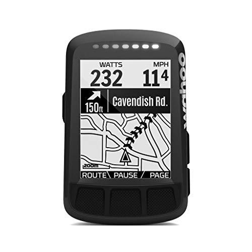 Wahoo Fitness ELEMNT Bolt GPS - Ordenador para Bicicleta, Color Negro