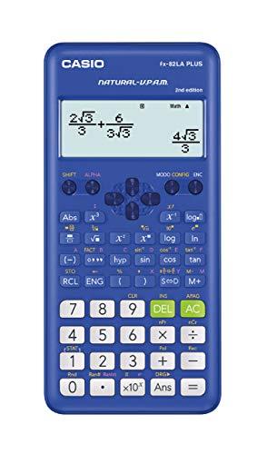 Casio Calculadora Científica Fx-82laplus 2da Edición Color Azul