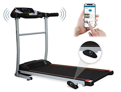 UrbanFit Pro Caminadora Electrica 1.75HP + bocinas + App Bluetooth - Negro