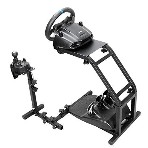 Pro Racing Wheel Simulator Stand - Soporte para volante de volante Logitech G29/G27/G25/G920 sin rueda y pedales