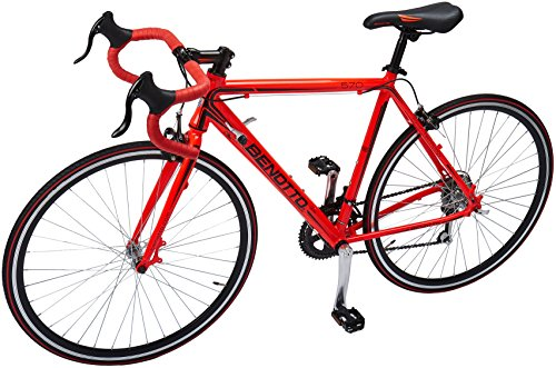 Benotto RRU570701454RO Bicicleta de Aluminio Rodada R700C, Unisex, 14 Velocidades
