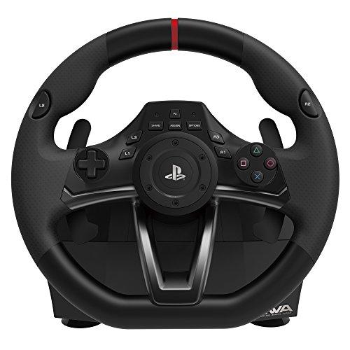 HORI PS4-052U Apex - Volante para PS4/PS3/PC, Negro, Edición Estándar - Standard Edition