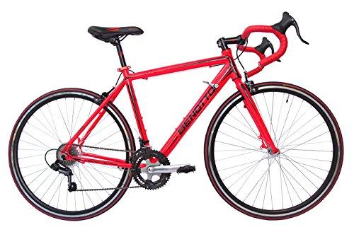 Benotto RRU570701451RO Bicicleta de Aluminio Rodada R700C, Unisex, 14 Velocidades
