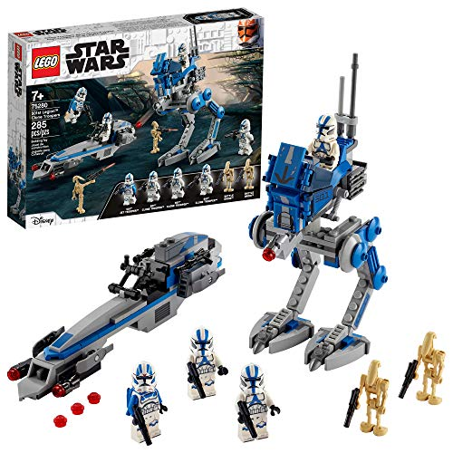 LEGO Kit de construcción Star Wars™ 75280 Clon Troopers de la Legión 501 (285 Piezas)