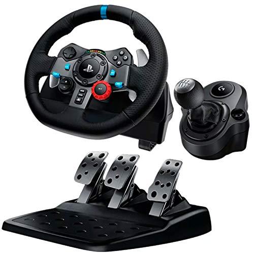 Kit Gamer Volante Palanca Pedales Logitech G29 Pc Ps3 Ps4