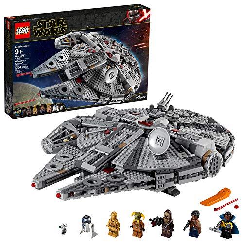 Kit de construcción LEGO® Star Wars: El Ascenso de Skywalker (1351 elementos): Halcón Milenario (75257)