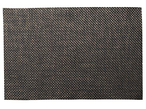 CreativeTops Alfombra de vinilo negro y cobre – negro y cobre